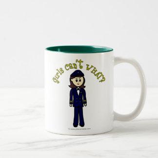 Pilot Girl Coffee Mug