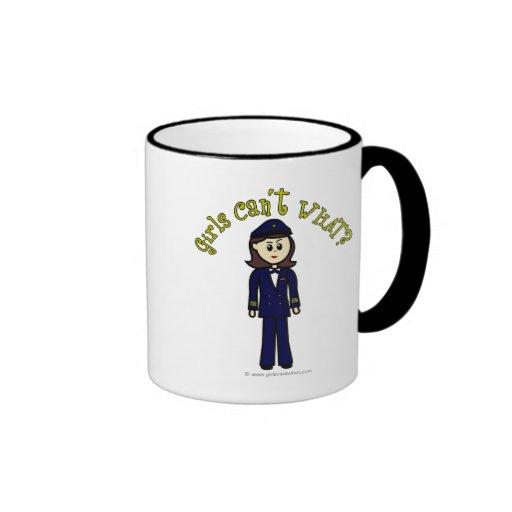 Pilot Girl Mugs