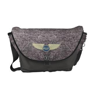 Pilot Gray Courier Bags