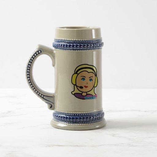 Pilot Head Light/Blonde Mug