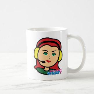 Pilot Head Light/Red Coffee Mugs