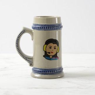 Pilot Head - Medium Coffee Mug