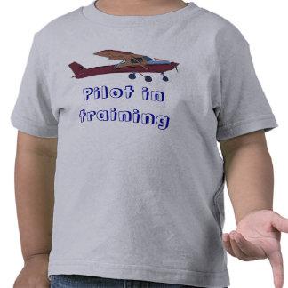Pilot in training shirts