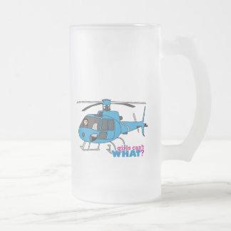 Pilot Medium Frosted Glass Mug