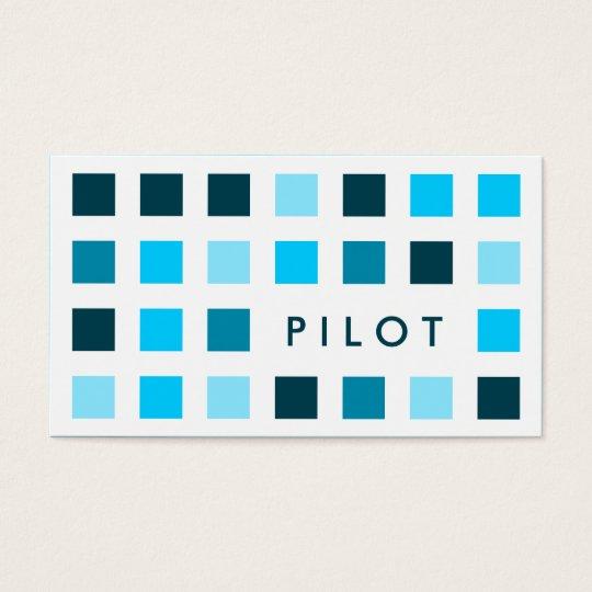 PILOT (mod squares) Business Card