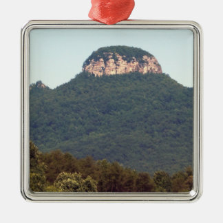 Pilot Mountain - North Carolina Christmas Ornament
