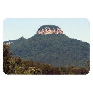 Pilot Mountain Rectangular Photo Magnet