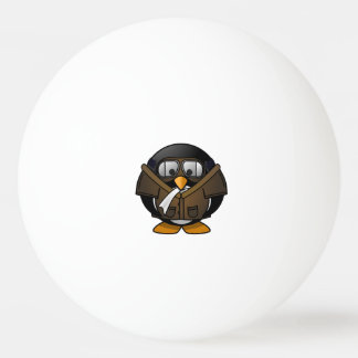 Pilot Penguin Ping Pong Ball
