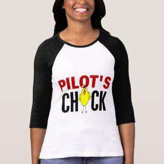 PILOT'S CHICK T SHIRT