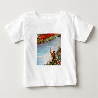 Pilot Waving Infant Tee Shirt