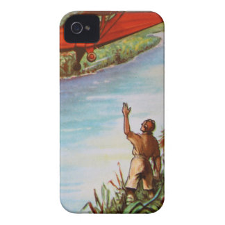 Pilot Waving iPhone 4/4S Case-Mate Barely There