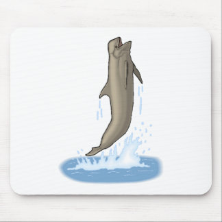 Pilot Whale Jumping Mouse Pad