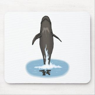 Pilot Whale Jumping Mousepad