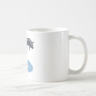 Pilot Whale Jumping Mug