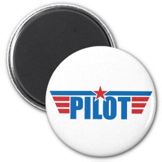 Pilot Wings Badge - Aviation Magnet