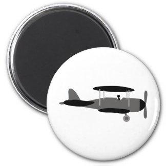 PilotBlack7 6 Cm Round Magnet