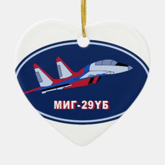 Piloten Ausbildungsabzeichen auf MIG 29 UB Trainer Ornament