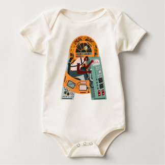 Piloting the ship baby bodysuit