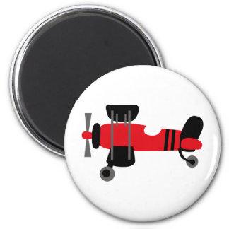 PilotRed1 6 Cm Round Magnet