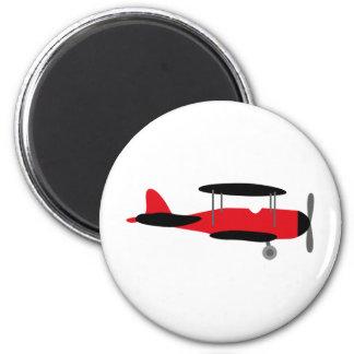 PilotRed3 6 Cm Round Magnet
