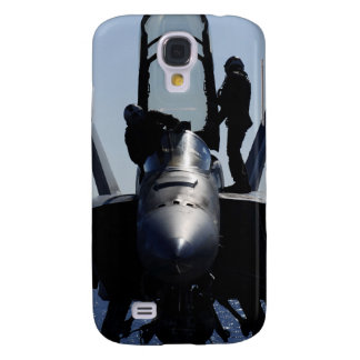 Pilots conducts a pre-flight inspection galaxy s4 case