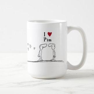 Pim Basic White Mug