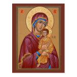 Pimen Mother of God Prayer Card Postcard