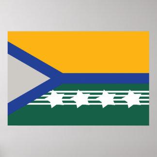 Pimenta Bueno, Brazil flag Print