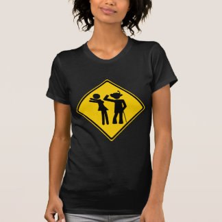 Pimp Backhand Road Sign T-Shirt