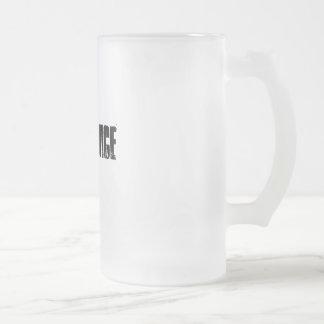 Pimp Juice Frosted Glass Mug