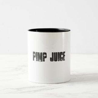 Pimp Juice Two-Tone Mug