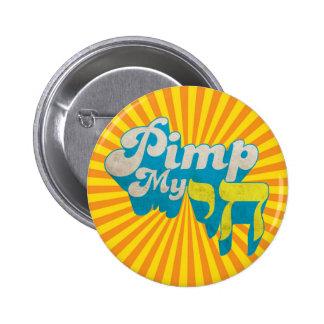 Pimp My CHAI - Funny stylish retro remake 6 Cm Round Badge