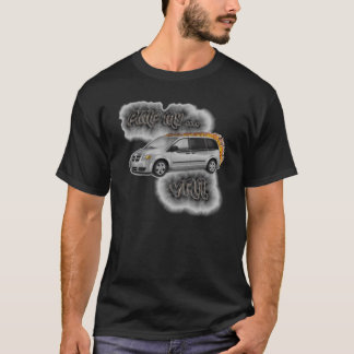 PIMP MY MINIVAN... FLAMING VAN T-Shirt