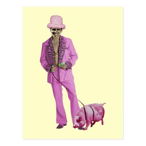 Pimp Obama and the Pig Postcards