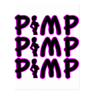 Pimp Pimp Pimp Post Cards