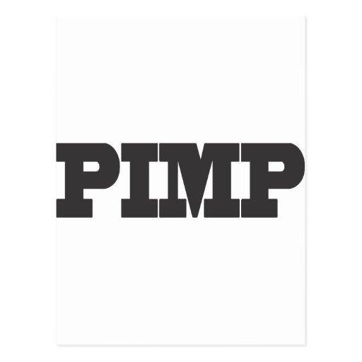 PIMP POST CARD