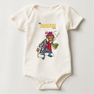 Pimpanzee large baby bodysuit