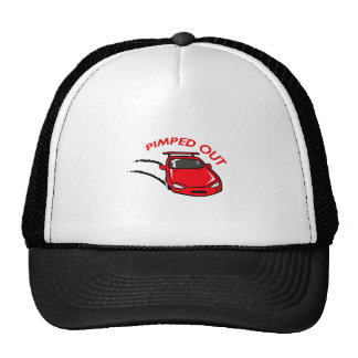PIMPED OUT CAR TRUCKER HAT