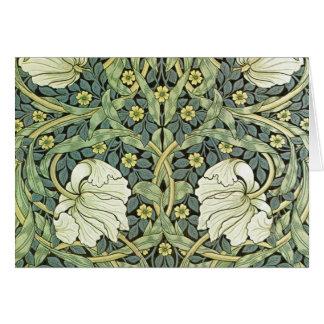 Pimpernel by William Morris Card