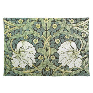 Pimpernel by William Morris Place Mats