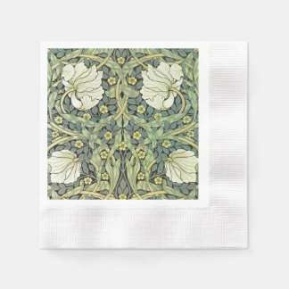 Pimpernel By William Morris Paper Napkin