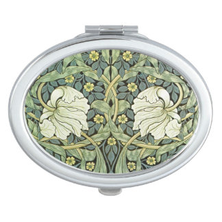 Pimpernel by William Morris Compact Mirror