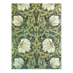 Pimpernel by William Morris Post Cards