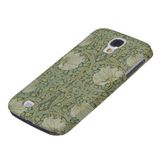 Pimpernel by William Morris Vintage Floral Textile Galaxy S4 Case