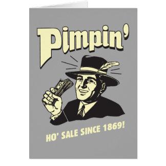 Pimpin': Ho Sale Card