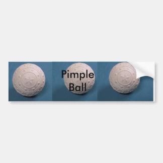 Pimple Ball Bumper Sticker