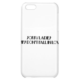 Pimps Don't Fall In Love iPhone 5C Cases