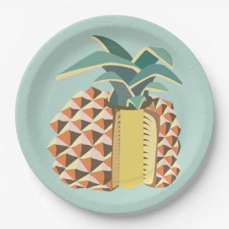 Pin Apple fruit illustration Paper Plate