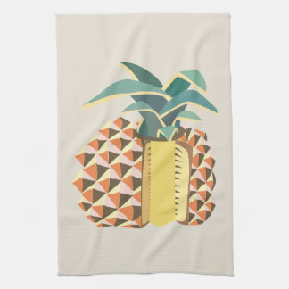 Pin Apple fruit illustration Tea Towel