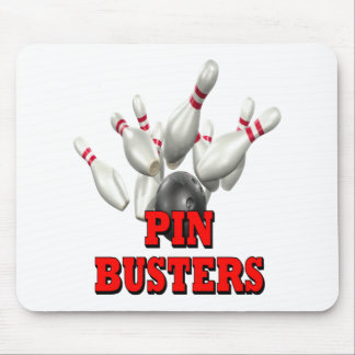 Pin Busters Bowling Mouse Pad